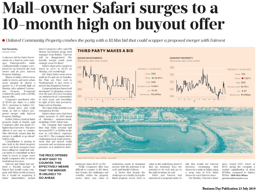 business-day_mall-owner-safari-surges-to-a-20-month-high-on-buyout-offer_23-july-2019